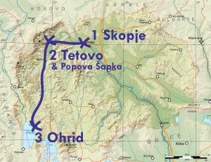 itinéraire 2