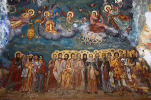 Fresque du XIXe à Kratovo.