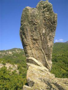 Formation rocheuse dans la Belasica.