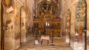 L'église de Manastir.