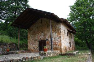 Eglise de Kurbinovo.