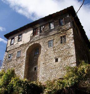 Maison des montagnes de l'ouest (Galičnik).