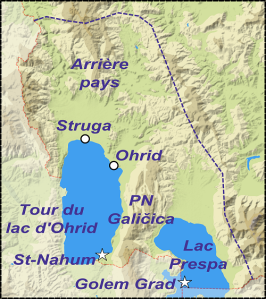 Sites de la région des grands lacs.