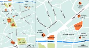 Plan de Bitola (cliquer pour agrandir).