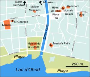Plan de Struga (cliquer pour agrandir).