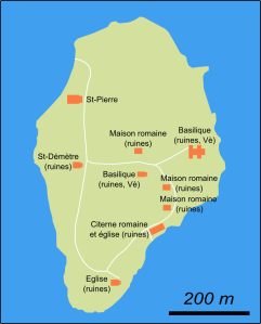 Plan de l'île (cliquer pour agrandir).