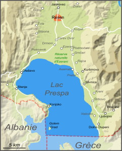 Plan du lac (cliquer pour agrandir).