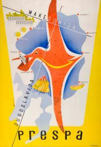 Affiche touristique de 1958.