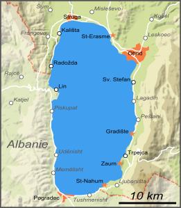 Tour du lac d'Ohrid