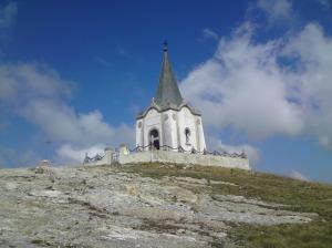 La chapelle au sommet du Kajmakčalan.