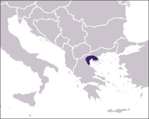 Le royaume de Macédoine à ses débuts.