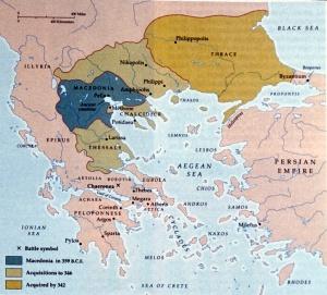 Le royaume de Philippe II.