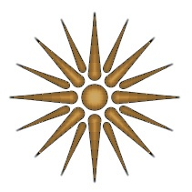 Le symbole de la Macédoine antique, aujourd'hui utilisé à toutes les sauces en Macédoine et en Grèce.