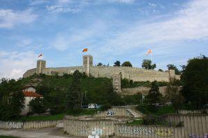 Forteresse de Skopje vue