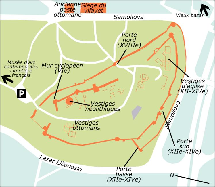 Plan Skopsko Kale