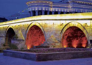 Pont de pierre Skopje