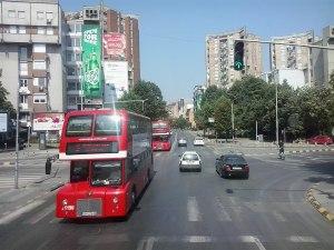 Skopje bus