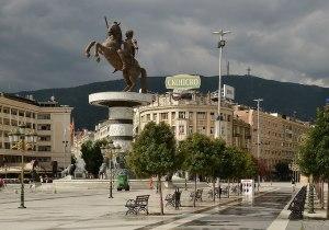 Skopje Place de Macédoine