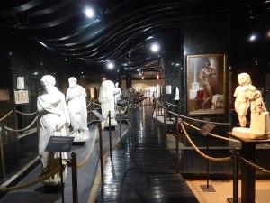 Intérieur Musée archéologique